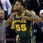The TBBC Big 12 Player of the Year, Pierre Jackson.